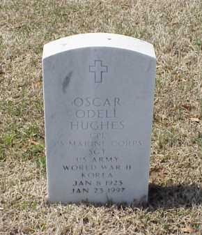 HUGHES (VETERAN 2 WARS), OSCAR ODELL - Pulaski County, Arkansas | OSCAR ODELL HUGHES (VETERAN 2 WARS) - Arkansas Gravestone Photos