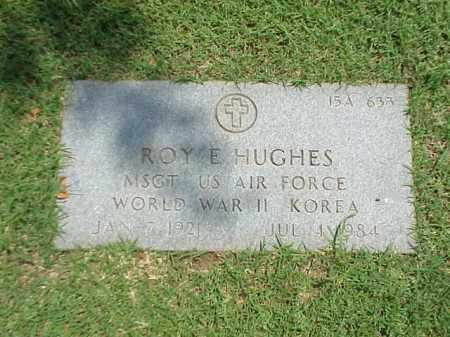 HUGHES (VETERAN 2 WARS), ROY E - Pulaski County, Arkansas | ROY E HUGHES (VETERAN 2 WARS) - Arkansas Gravestone Photos