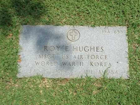HUGHES (VETERAN 2 WARS), ROY E - Pulaski County, Arkansas | ROY E HUGHES (VETERAN 2 WARS) - Arkansas Gravestone Photos