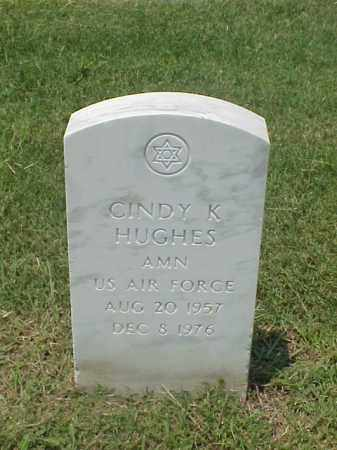 HUGHES (VETERAN), CINDY K - Pulaski County, Arkansas | CINDY K HUGHES (VETERAN) - Arkansas Gravestone Photos