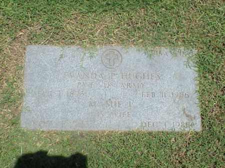 HUGHES (VETERAN WWI), EVANDA P - Pulaski County, Arkansas | EVANDA P HUGHES (VETERAN WWI) - Arkansas Gravestone Photos