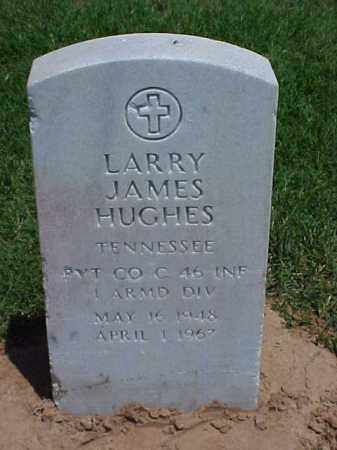 HUGHES (VETERAN VIET), LARRY JAMES - Pulaski County, Arkansas | LARRY JAMES HUGHES (VETERAN VIET) - Arkansas Gravestone Photos