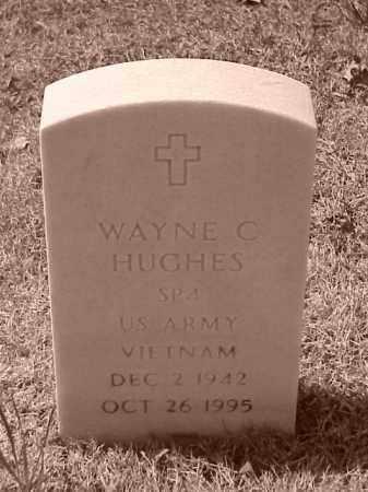 HUGHES (VETERAN VIET), WAYNE C - Pulaski County, Arkansas | WAYNE C HUGHES (VETERAN VIET) - Arkansas Gravestone Photos