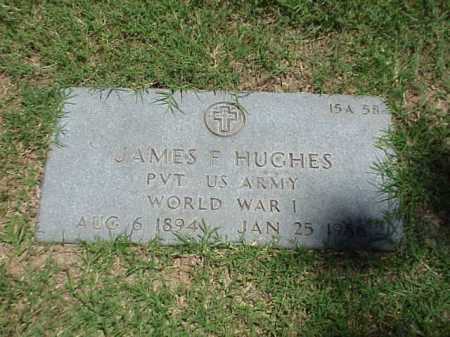 HUGHES (VETERAN WWI), JAMES F - Pulaski County, Arkansas | JAMES F HUGHES (VETERAN WWI) - Arkansas Gravestone Photos