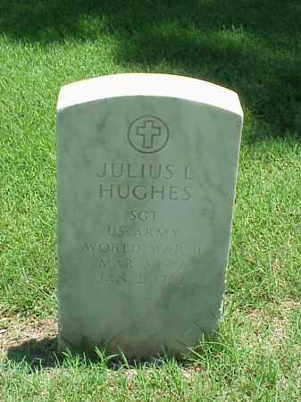 HUGHES (VETERAN WWII), JULIUS L - Pulaski County, Arkansas | JULIUS L HUGHES (VETERAN WWII) - Arkansas Gravestone Photos