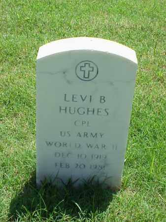HUGHES (VETERAN WWII), LEVI B - Pulaski County, Arkansas | LEVI B HUGHES (VETERAN WWII) - Arkansas Gravestone Photos