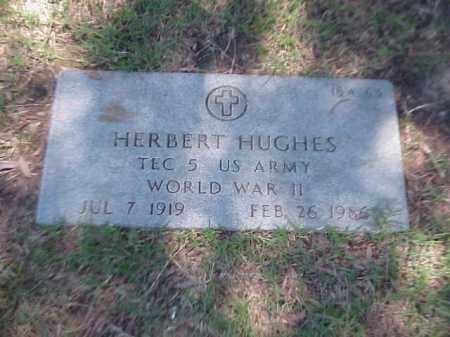 HUGHES (VETERAN WWII), HERBERT - Pulaski County, Arkansas | HERBERT HUGHES (VETERAN WWII) - Arkansas Gravestone Photos