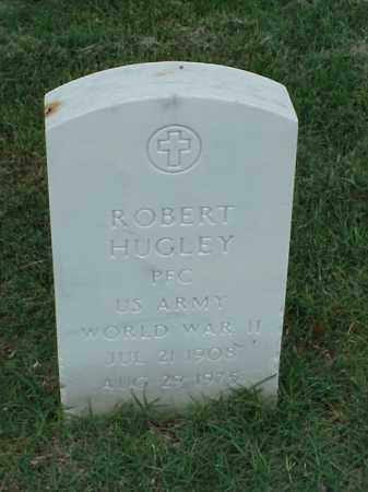 HUGLEY (VETERAN WWII), ROBERT - Pulaski County, Arkansas | ROBERT HUGLEY (VETERAN WWII) - Arkansas Gravestone Photos