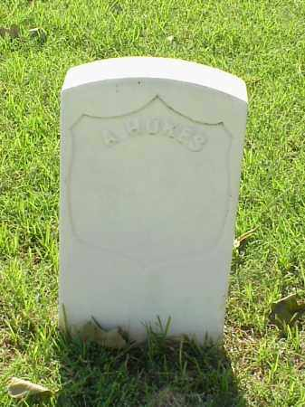 HUKES (VETERAN UNION), A - Pulaski County, Arkansas | A HUKES (VETERAN UNION) - Arkansas Gravestone Photos