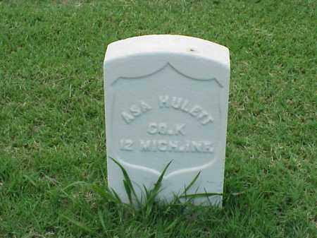 HULETT (VETERAN UNION), ASA - Pulaski County, Arkansas | ASA HULETT (VETERAN UNION) - Arkansas Gravestone Photos