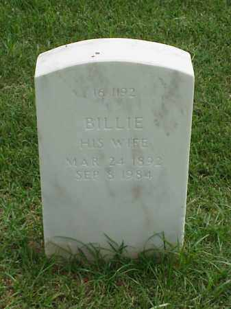 HULSEY, BILLIE - Pulaski County, Arkansas | BILLIE HULSEY - Arkansas Gravestone Photos