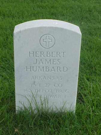 HUMBARD (VETERAN WWI), HERBERT JAMES - Pulaski County, Arkansas | HERBERT JAMES HUMBARD (VETERAN WWI) - Arkansas Gravestone Photos