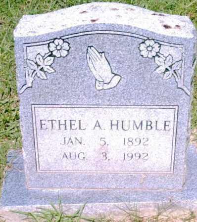 HUMBLE, ETHEL - Pulaski County, Arkansas | ETHEL HUMBLE - Arkansas Gravestone Photos
