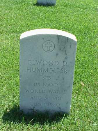 HUMMEL, SR (VETERAN WWII), ELWOOD D - Pulaski County, Arkansas | ELWOOD D HUMMEL, SR (VETERAN WWII) - Arkansas Gravestone Photos