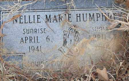 HUMPHREY, NELLIE MARIE - Pulaski County, Arkansas | NELLIE MARIE HUMPHREY - Arkansas Gravestone Photos