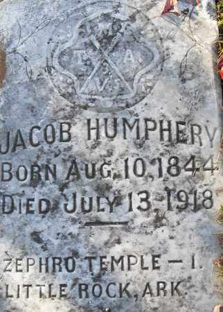 HUMPHERY, JACOB - Pulaski County, Arkansas | JACOB HUMPHERY - Arkansas Gravestone Photos