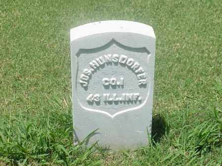 HUNSDORFER (VETERAN UNION), JOSEPH - Pulaski County, Arkansas | JOSEPH HUNSDORFER (VETERAN UNION) - Arkansas Gravestone Photos