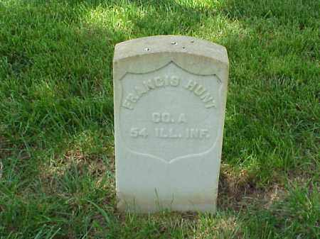 HUNT (VETERAN UNION), FRANCIS - Pulaski County, Arkansas | FRANCIS HUNT (VETERAN UNION) - Arkansas Gravestone Photos