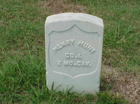 HUNT (VETERAN UNION), HENRY - Pulaski County, Arkansas | HENRY HUNT (VETERAN UNION) - Arkansas Gravestone Photos