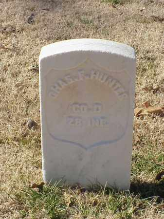 HUNTER  (VETERAN UNION), CHARLES F - Pulaski County, Arkansas | CHARLES F HUNTER  (VETERAN UNION) - Arkansas Gravestone Photos
