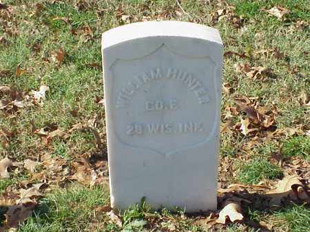 HUNTER  (VETERAN UNION), WILLIAM - Pulaski County, Arkansas | WILLIAM HUNTER  (VETERAN UNION) - Arkansas Gravestone Photos