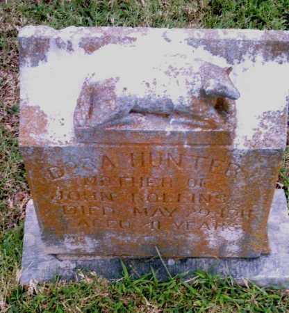 HUNTER, DORA - Pulaski County, Arkansas | DORA HUNTER - Arkansas Gravestone Photos