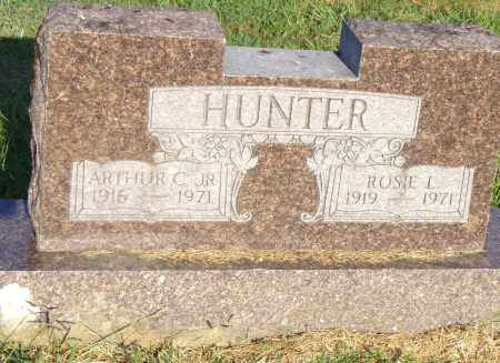 HUNTER, ROSIE L - Pulaski County, Arkansas | ROSIE L HUNTER - Arkansas Gravestone Photos