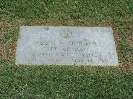 HUNTER (VETERAN 2 WARS), HUGH W - Pulaski County, Arkansas | HUGH W HUNTER (VETERAN 2 WARS) - Arkansas Gravestone Photos