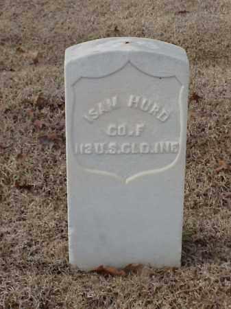 HURD  (VETERAN UNION), ISAM - Pulaski County, Arkansas | ISAM HURD  (VETERAN UNION) - Arkansas Gravestone Photos