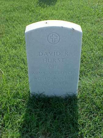 HURST (VETERAN 2 WARS), DAVID R - Pulaski County, Arkansas | DAVID R HURST (VETERAN 2 WARS) - Arkansas Gravestone Photos
