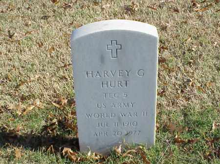 HURT  (VETERAN WWII), HARVEY G - Pulaski County, Arkansas | HARVEY G HURT  (VETERAN WWII) - Arkansas Gravestone Photos