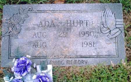 HURT, ADA - Pulaski County, Arkansas | ADA HURT - Arkansas Gravestone Photos