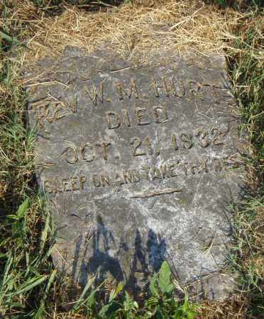 HURT REV, W.M. - Pulaski County, Arkansas | W.M. HURT REV - Arkansas Gravestone Photos