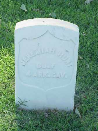 HURT (VETERAN UNION), JEREMIAH - Pulaski County, Arkansas | JEREMIAH HURT (VETERAN UNION) - Arkansas Gravestone Photos