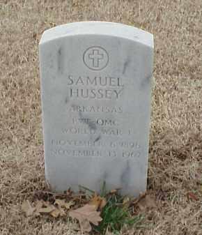 HUSSEY  (VETERAN WWI), SAMUEL - Pulaski County, Arkansas | SAMUEL HUSSEY  (VETERAN WWI) - Arkansas Gravestone Photos