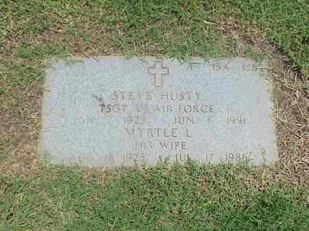 HUSTY (VETERAN 2 WARS), STEVE - Pulaski County, Arkansas | STEVE HUSTY (VETERAN 2 WARS) - Arkansas Gravestone Photos