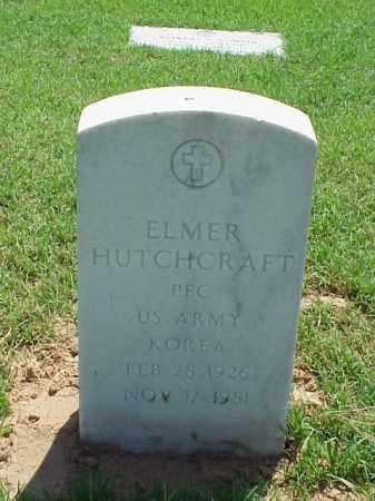 HUTCHCRAFT (VETERAN KOR), ELMER - Pulaski County, Arkansas | ELMER HUTCHCRAFT (VETERAN KOR) - Arkansas Gravestone Photos