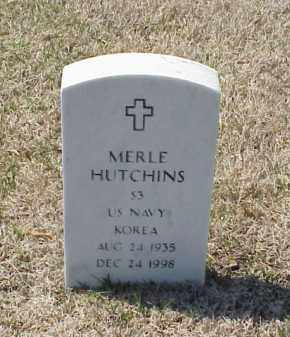 HUTCHINS (VETERAN KOR), MERLE - Pulaski County, Arkansas | MERLE HUTCHINS (VETERAN KOR) - Arkansas Gravestone Photos