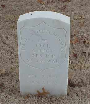 HUTCHINSON  (VETERAN SAW), DAVE A - Pulaski County, Arkansas | DAVE A HUTCHINSON  (VETERAN SAW) - Arkansas Gravestone Photos