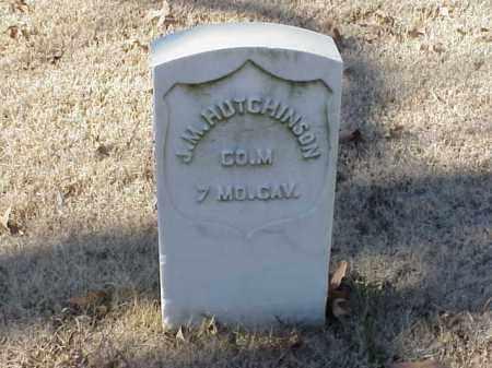 HUTCHINSON  (VETERAN UNION), J M - Pulaski County, Arkansas | J M HUTCHINSON  (VETERAN UNION) - Arkansas Gravestone Photos
