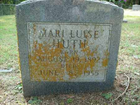 HUTH, MARI LOUISE - Pulaski County, Arkansas | MARI LOUISE HUTH - Arkansas Gravestone Photos