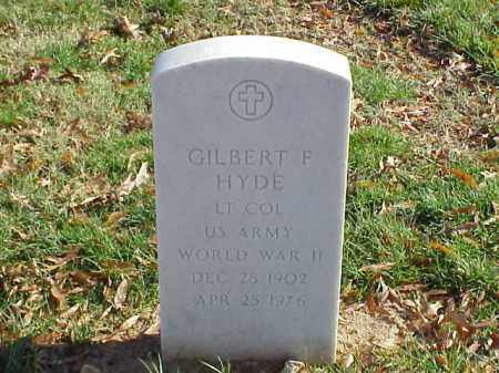HYDE  (VETERAN WWII), GILBERT F - Pulaski County, Arkansas | GILBERT F HYDE  (VETERAN WWII) - Arkansas Gravestone Photos