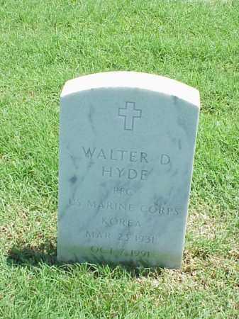 HYDE (VETERAN KOR), WALTER D - Pulaski County, Arkansas | WALTER D HYDE (VETERAN KOR) - Arkansas Gravestone Photos