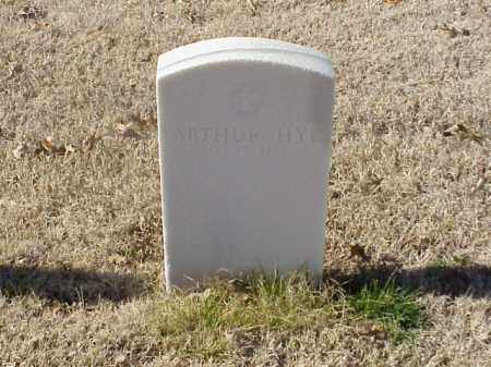 HYE  (VETERAN UNION), ARTHUR - Pulaski County, Arkansas | ARTHUR HYE  (VETERAN UNION) - Arkansas Gravestone Photos