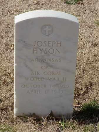 HYSON  (VETERAN WWII), JOSEPH - Pulaski County, Arkansas | JOSEPH HYSON  (VETERAN WWII) - Arkansas Gravestone Photos