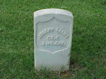 IJAMS (VETERAN UNION), JOSEPH - Pulaski County, Arkansas | JOSEPH IJAMS (VETERAN UNION) - Arkansas Gravestone Photos