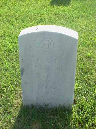 INGRAM (VETERAN WWII), IRA T - Pulaski County, Arkansas | IRA T INGRAM (VETERAN WWII) - Arkansas Gravestone Photos