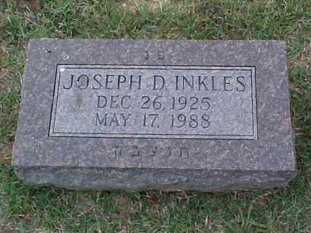 INKLES, JOSEPH D - Pulaski County, Arkansas | JOSEPH D INKLES - Arkansas Gravestone Photos