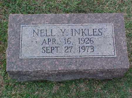 INKLES, NELL Y - Pulaski County, Arkansas | NELL Y INKLES - Arkansas Gravestone Photos