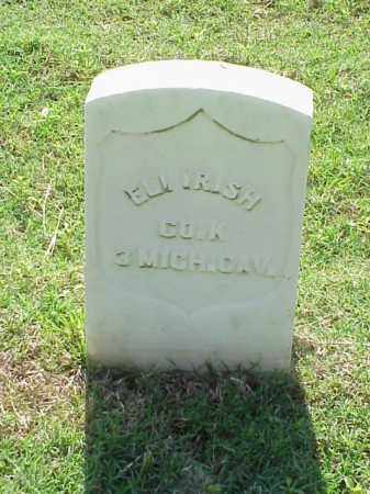 IRISH (VETERAN UNION), ELI - Pulaski County, Arkansas | ELI IRISH (VETERAN UNION) - Arkansas Gravestone Photos